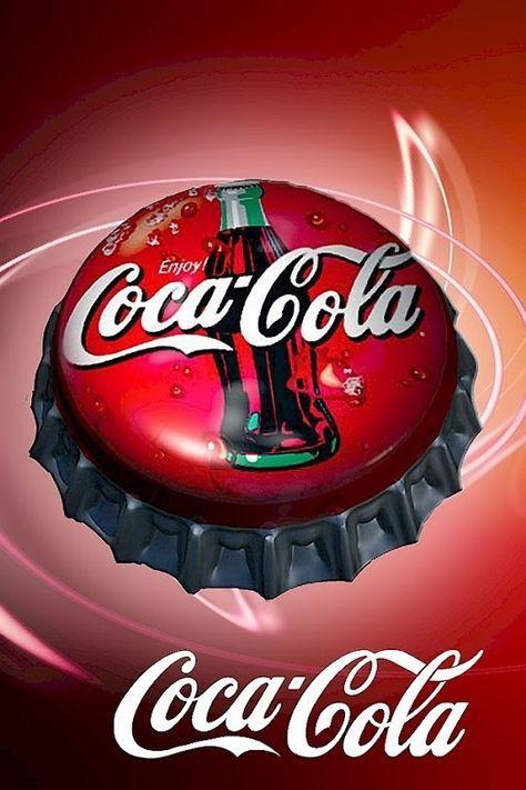 Retro Tin Metal Postcard COCA-COLA in Bottles 10x14cm Licensed COKE Yellow//Red