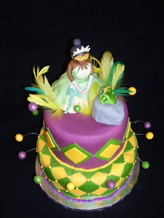 The Disney Cake Blog: Princess and the Frog Cake