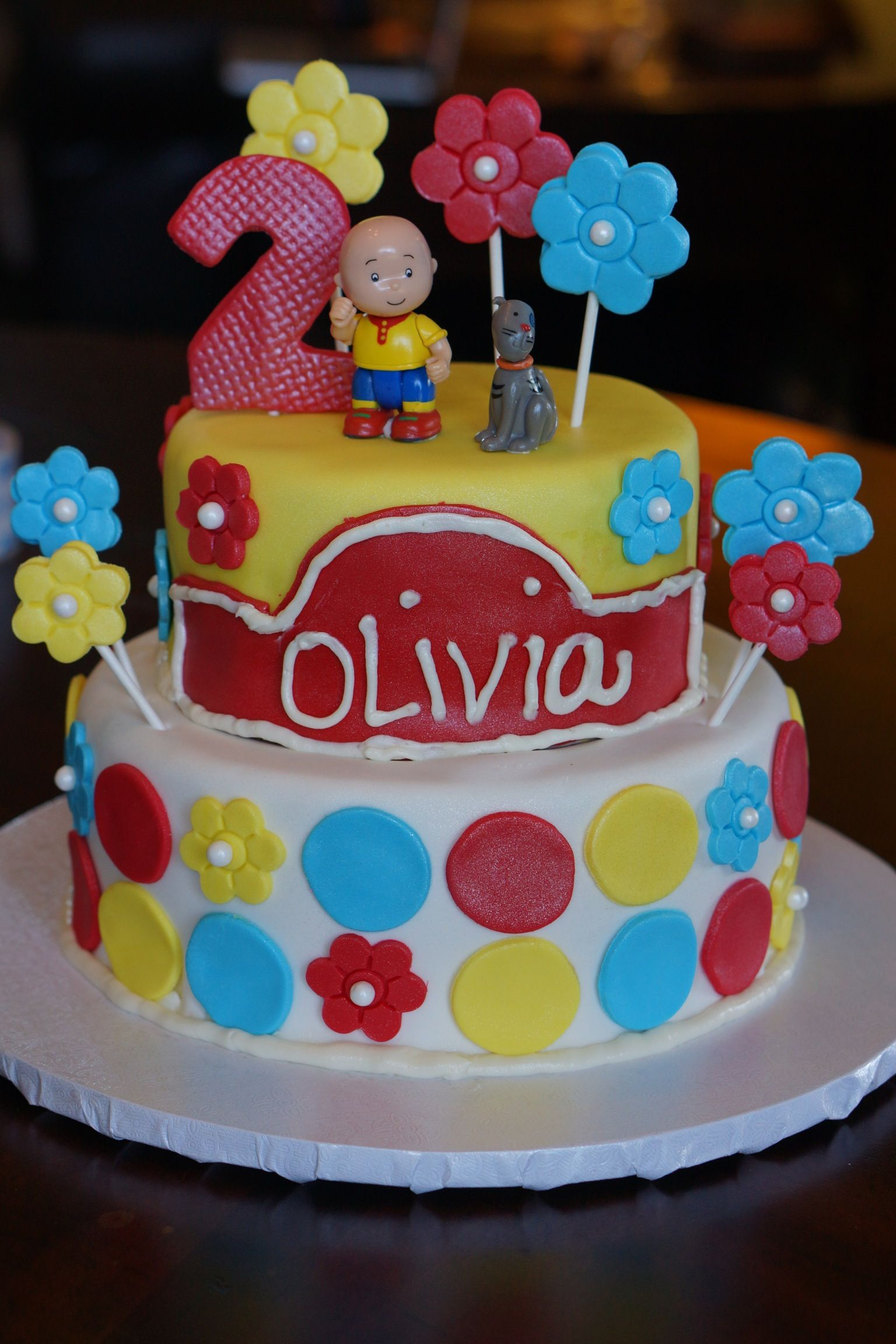 Strange Caillou Cake With Images Birthday Cake Decorating Caillou Funny Birthday Cards Online Elaedamsfinfo