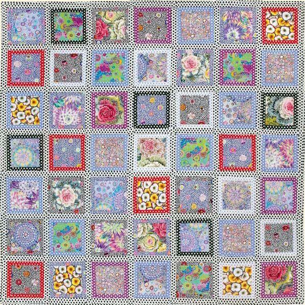 Quilt It Dotty.Dotty Frames Quilt Fabric Pack From Kaffe Fassett S Latest