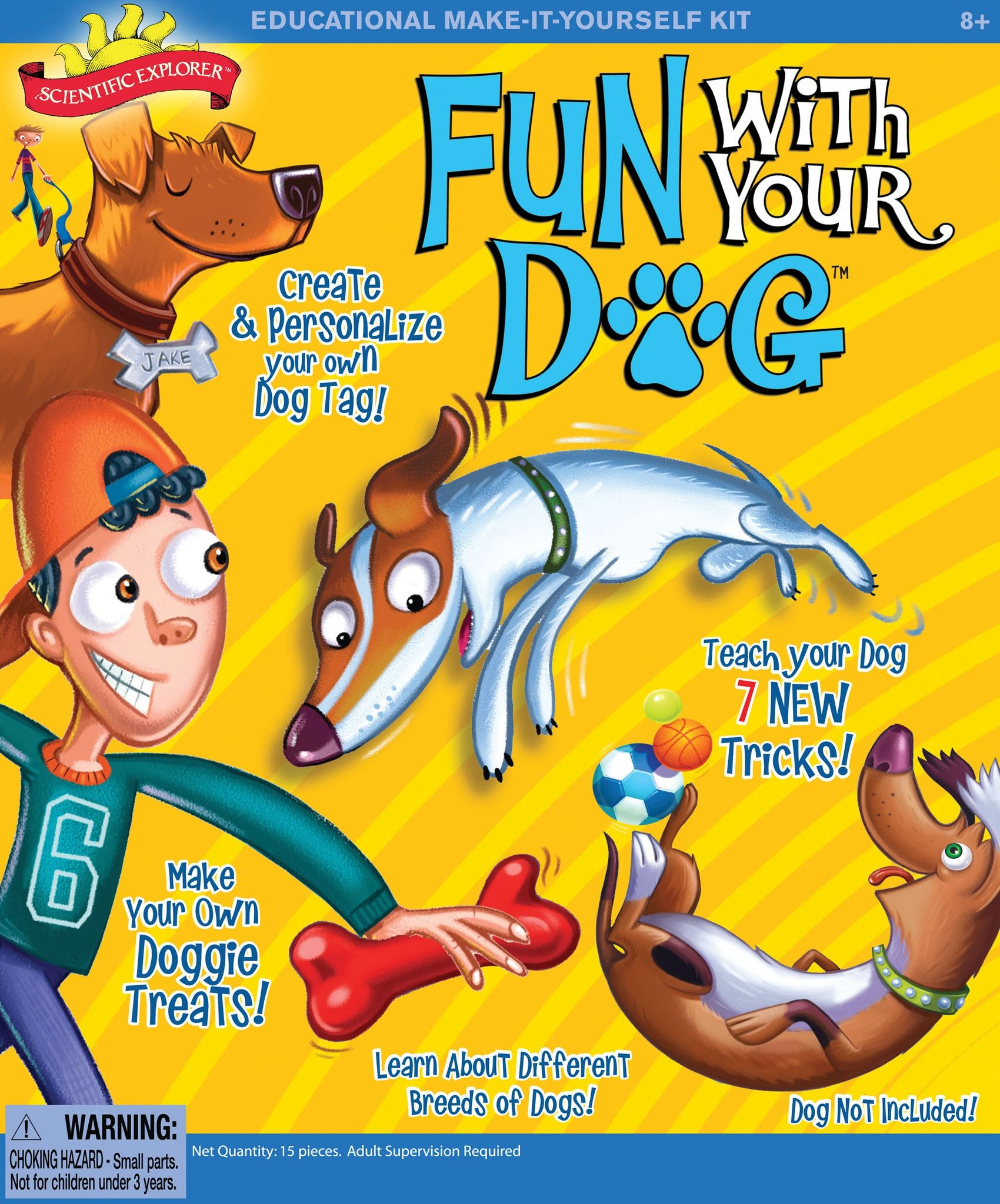 Scientific Explorer's Fun With Your Dog Activity Kit, by Poof-Slinky