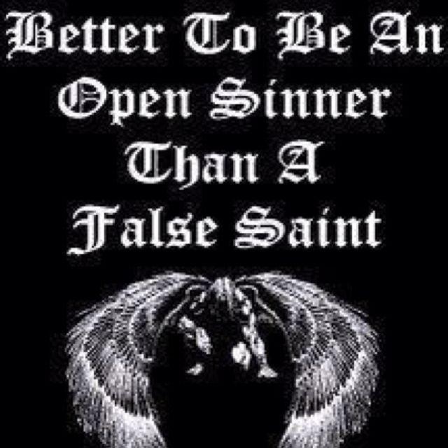 Image result for quotes about false saints