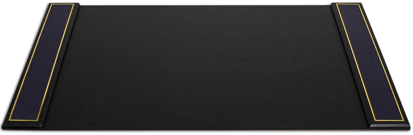 Black Leather Desk Mat Real Wood Home Office Furniture Check More At Http
