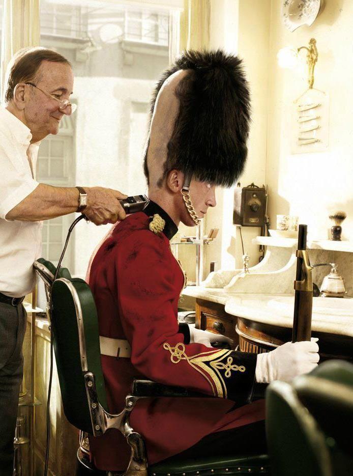 English barber?