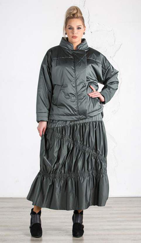 Коллекция модной одежды для полных женщин российского ...