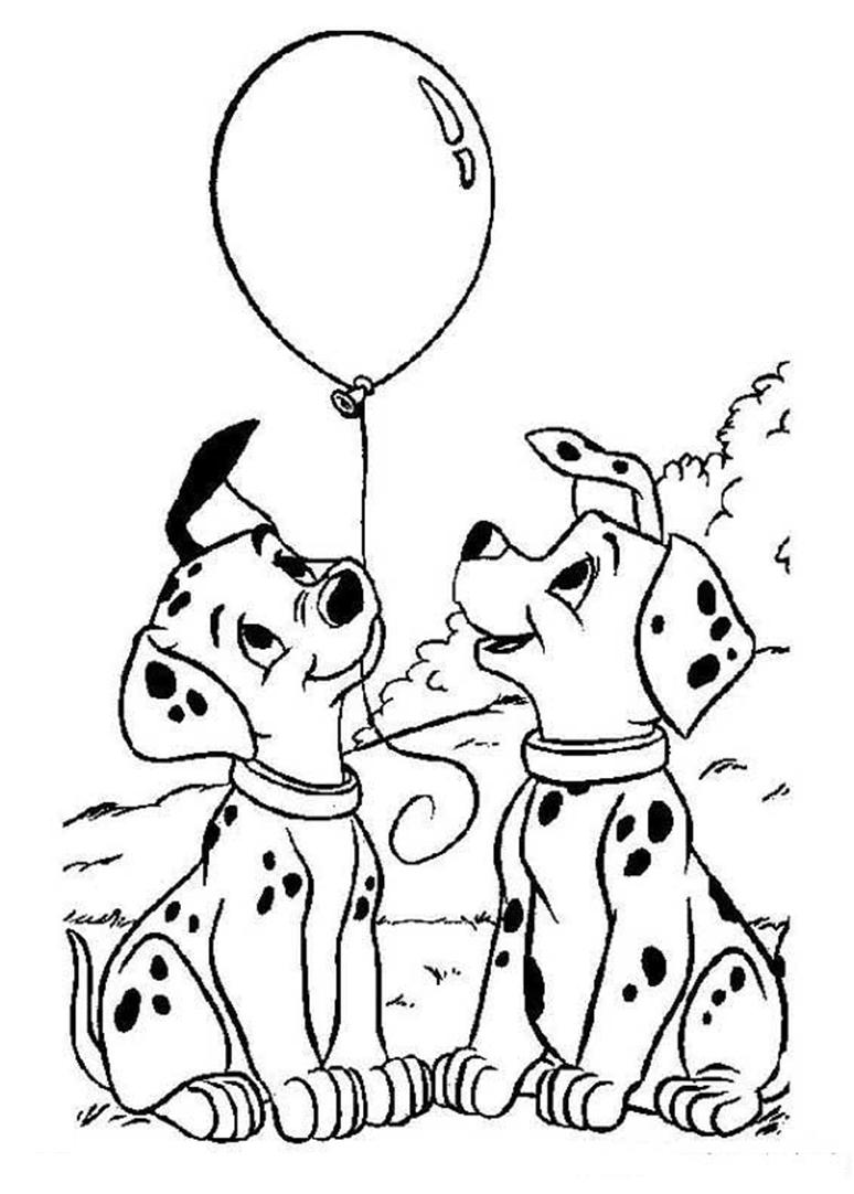 dalmatians coloring page disney pinterest dalmatian