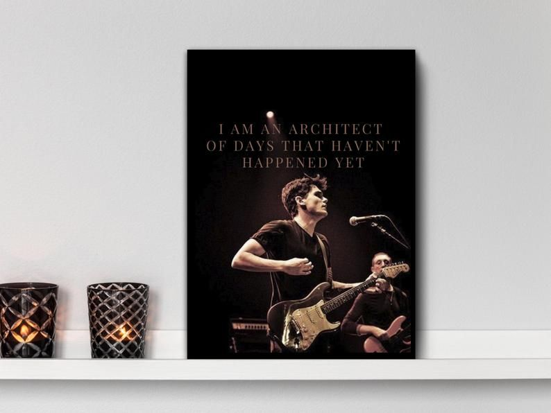 John Mayer Elegant Printable Wall Art A Face To Call Home Etsy Printable Wall Art Wall Printables Printable Art