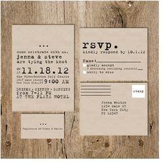 Typewriter Wedding Invitation Google Search Wedding Invitations