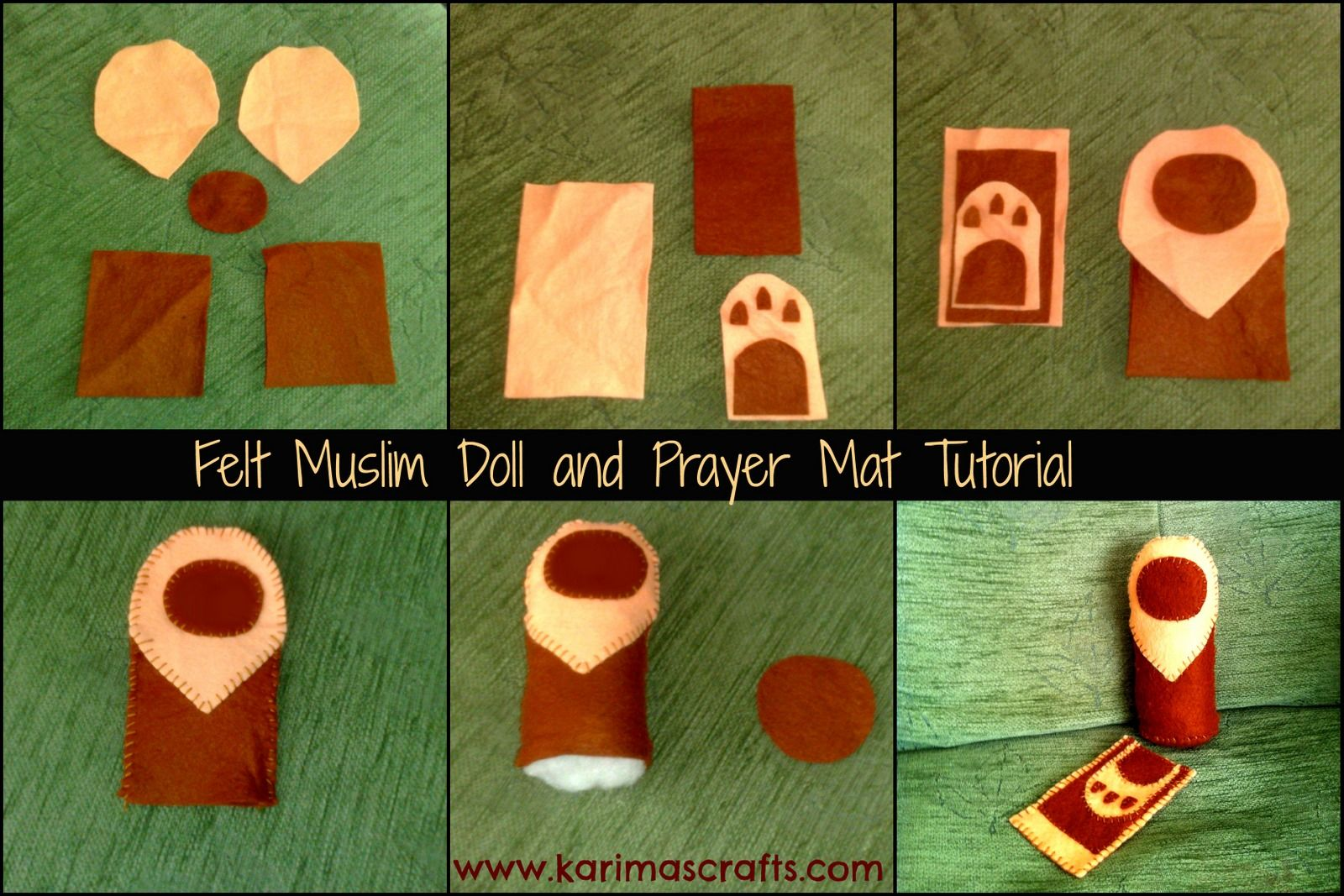 I Made The Muslim Doll And Prayer Mat After Seeing A