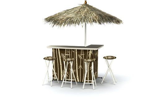Best of Times Patio Bar and Tailgating Center Deluxe Pack...