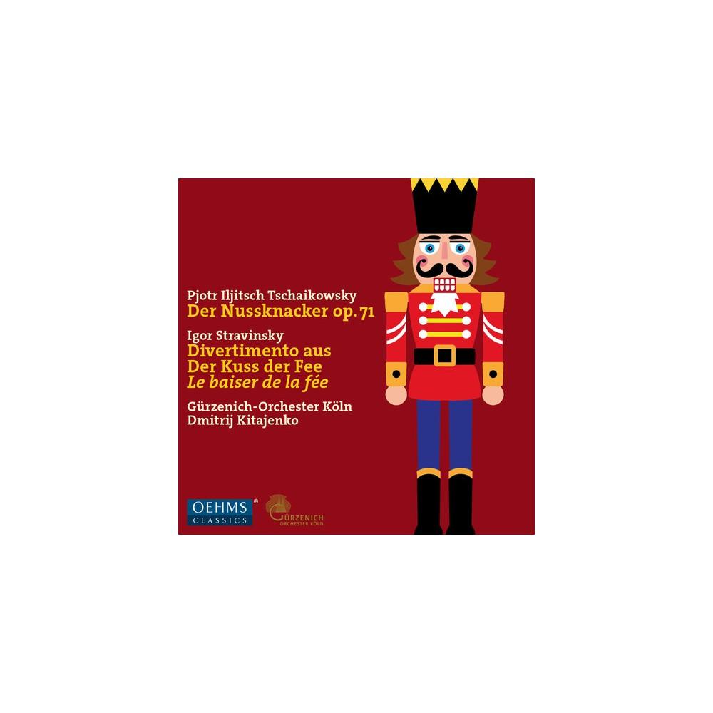 Travinsky & Tchaikovsky & Koln & Kitajenko - Tchaikovsky: Nutcracker / Stravinsky: Divertimento (CD)