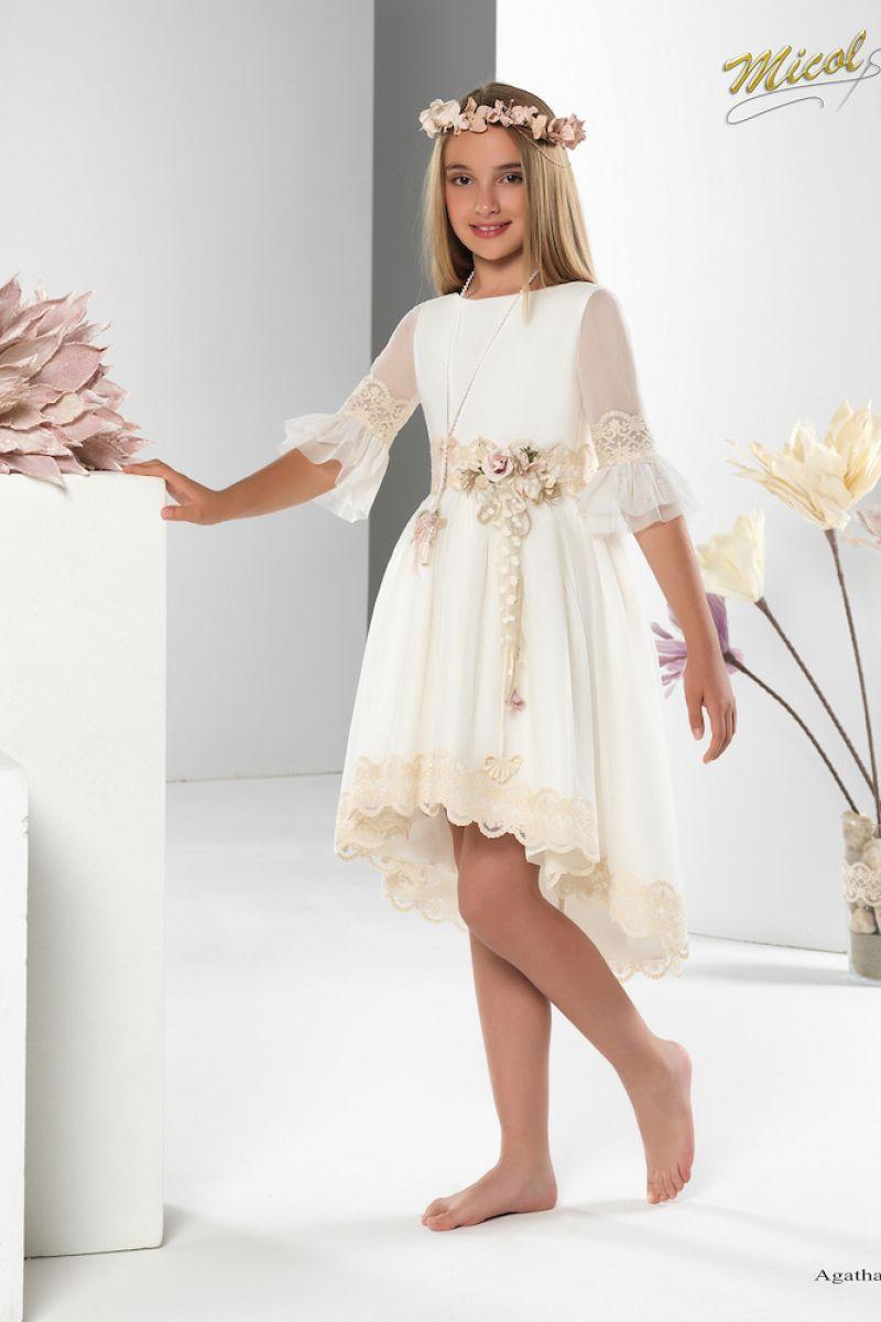 Agatha Vestidos De Fiesta Para Niñas Vestidos De Comunion