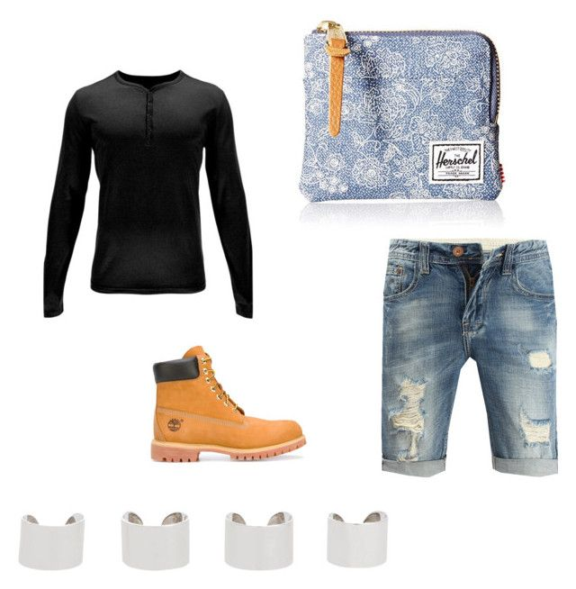 """""""Untitled #115"""" by alayakim-kim ❤ liked on Polyvore featuring Spyder, Timberland, Herschel, Maison Margiela, men's fashion and menswear"""