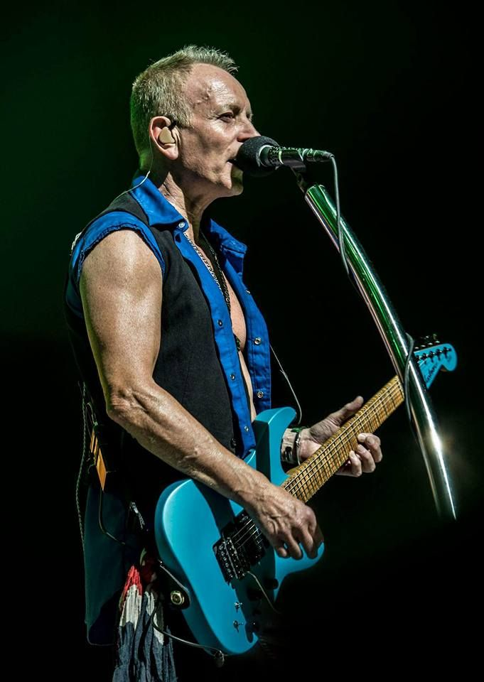 Pin By Cherie Goodwin Gurski On The Boys Phil Collen Def Leppard Phil Collins