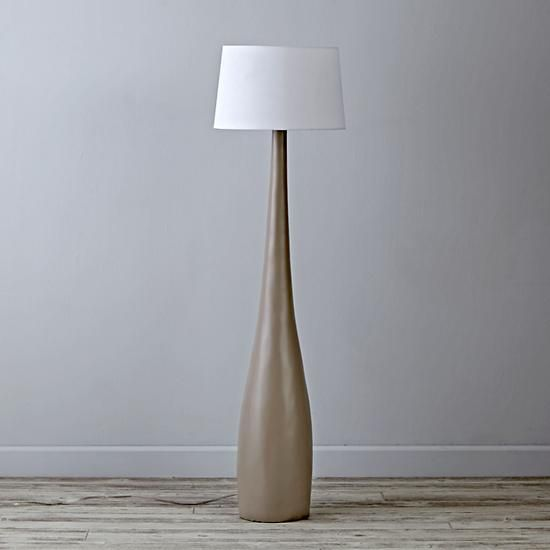 Flared Floor Lamp The Land Of Nod