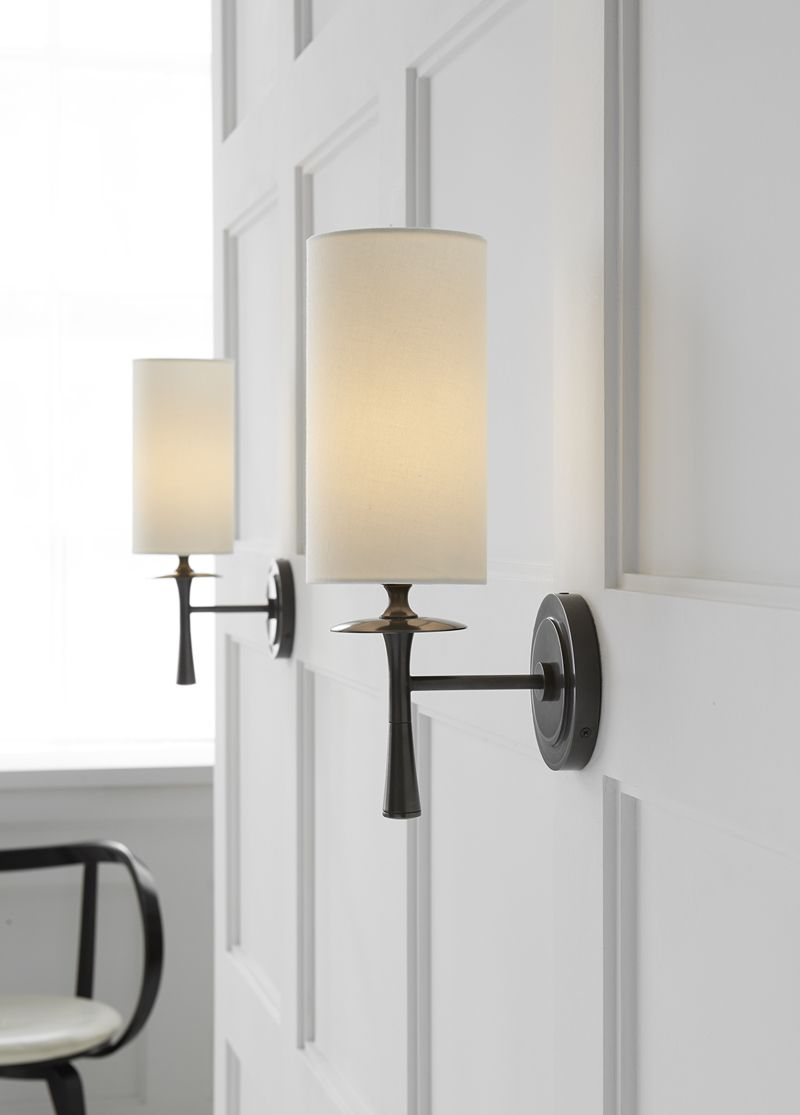 Drunmore Single Sconce   Sconces, Sconces living room ... on Height Of Bathroom Sconce Lights id=48067
