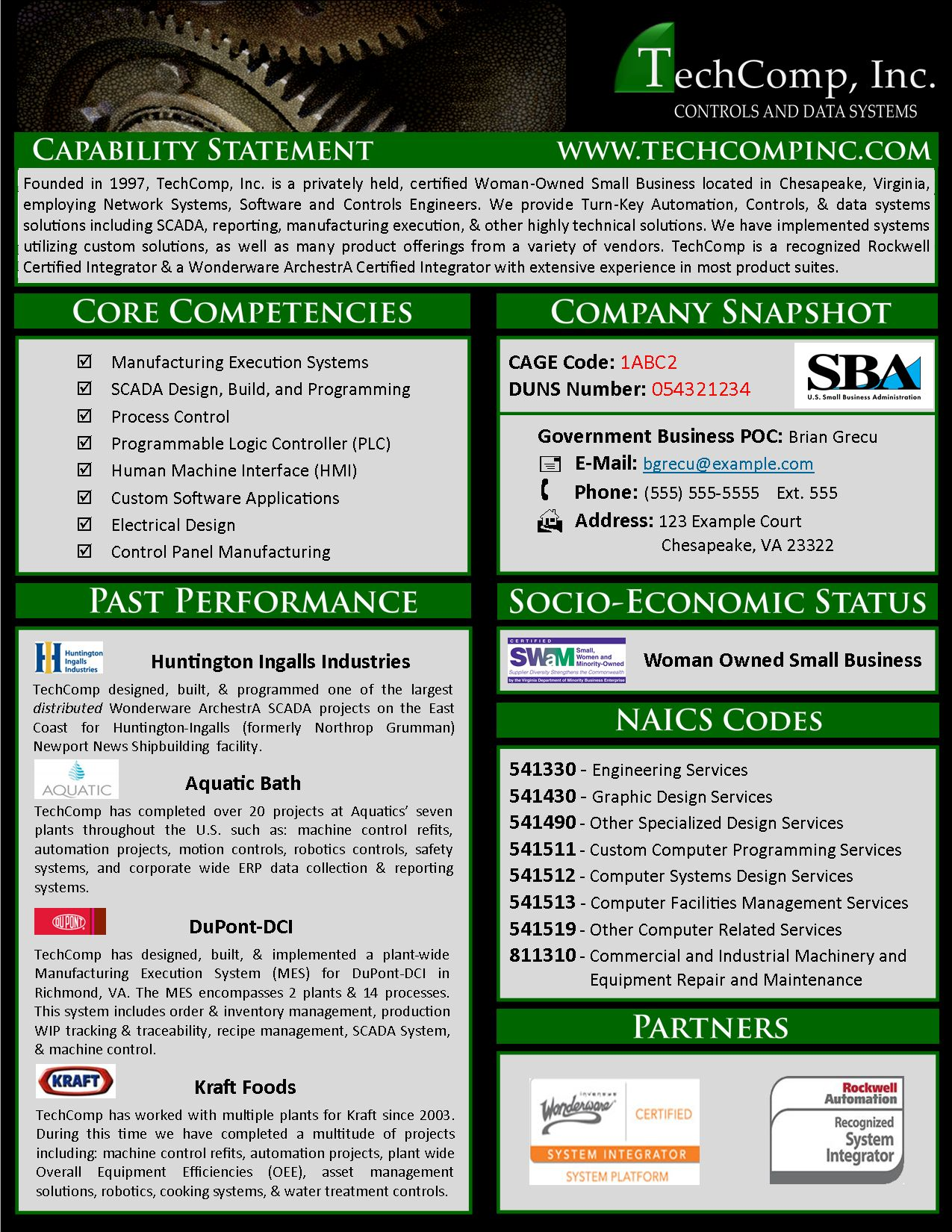 The Mesmerizing Capability Statement Examples Google Search Sample With Capability Statement Template Word Digit Statement Template Word Template Statement