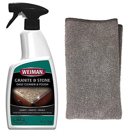 Granite Cleaner Kit Weiman Granite Cleaner Polish 24