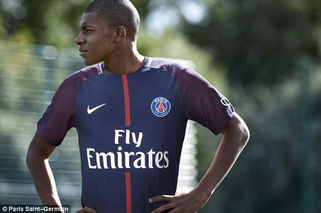 ec88285223e Kylian Mbappe completes loan to PSG ahead of £166m move from Monaco ...