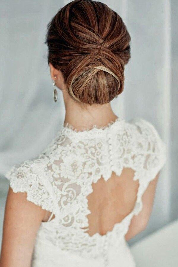 Peinados recogidos para vestidos de noche