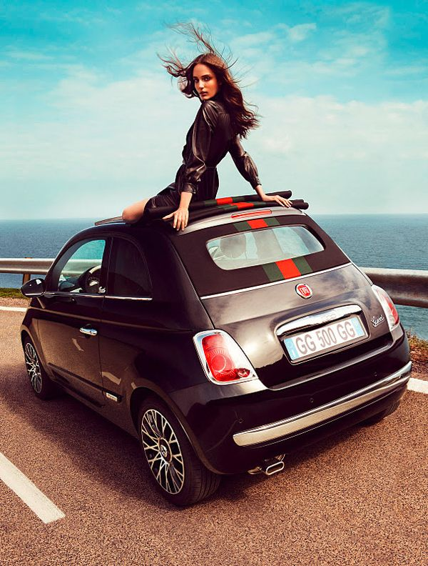 Fiat 500 Convertible By Gucci Autos Pinterest Fiat 500 Fiat