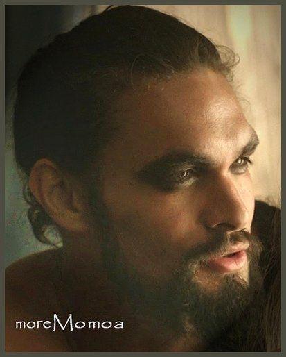 Jason Momoa. Khal Drogo.