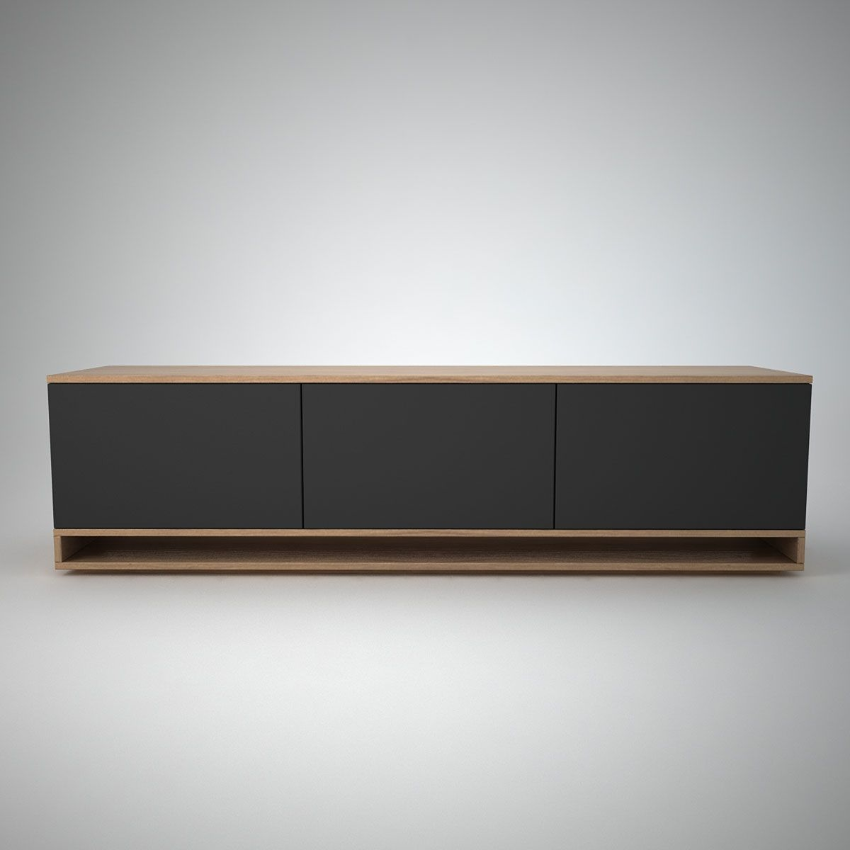 Harlem Low Sideboard (3) Anthracite - Join Furniture
