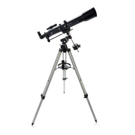 Celestron PowerSeeker 70EQ Telescope, Black | Products in