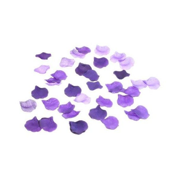 Purple Rose Petals Liked On Polyvore Featuring Flowers