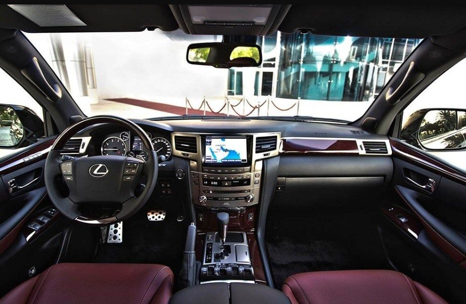 2020 Lexus Lx 570 More Technology Inside