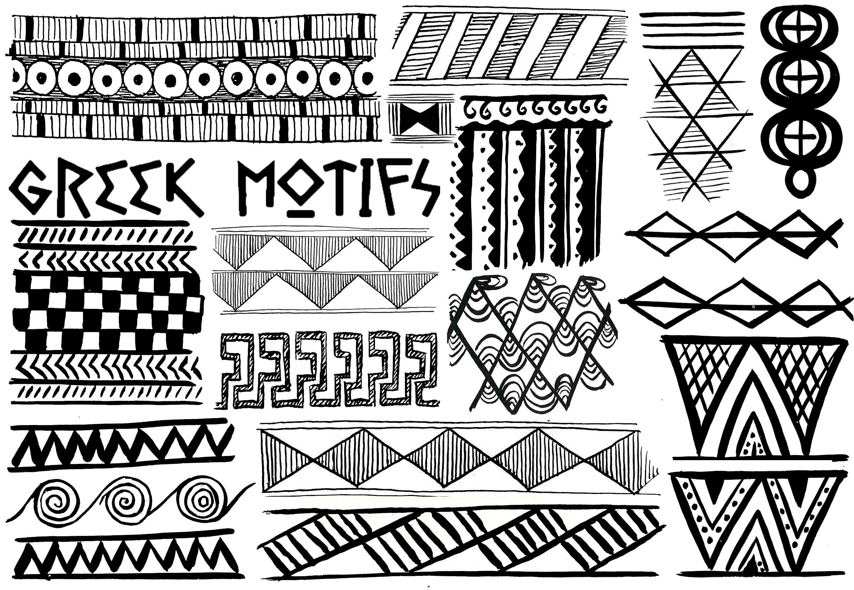 Greek Pattern Worksheet In