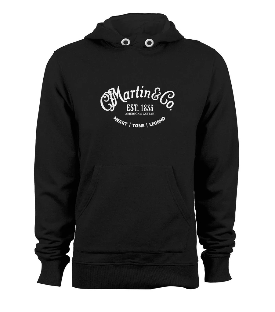 Martin/&co Classic Guitar Logo Custom Pullover Hoodie Hooded Jacket Sweats