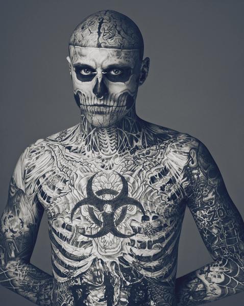 Zombie Boy - Model für Thierry Mugler | love Tattoo's ...