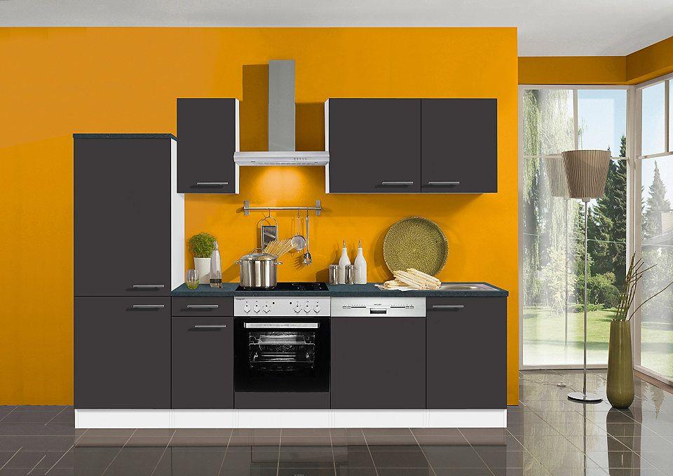 Optifit Küchenzeile mit E-Geräten »All Inclusive «, 270 cm Jetzt - küchenblock 270 cm