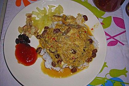 Perlentaucher-Curry mit Räucherfisch