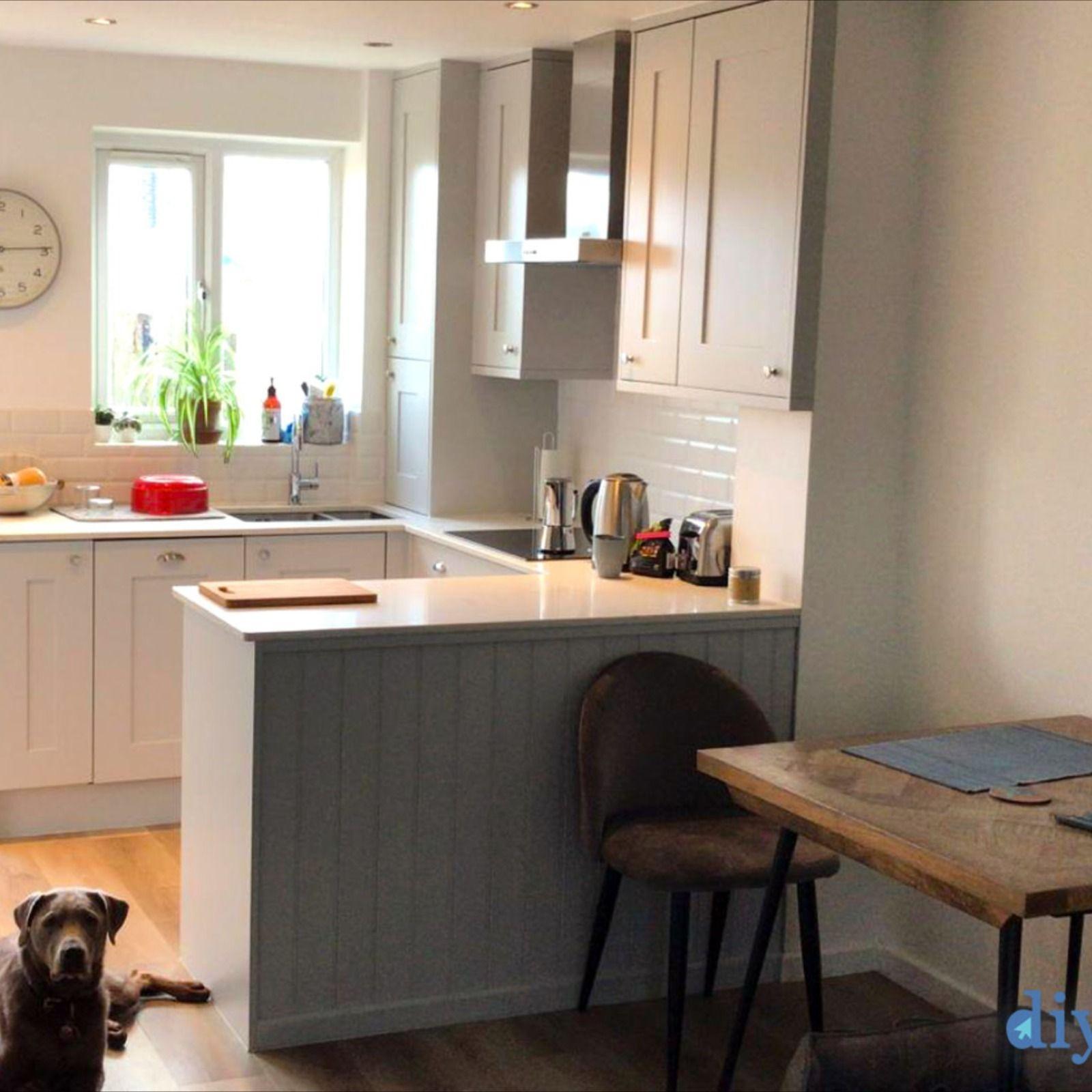 Best An Innova Stanbury Dove Grey Shaker Kitchen In 2020 Grey 400 x 300