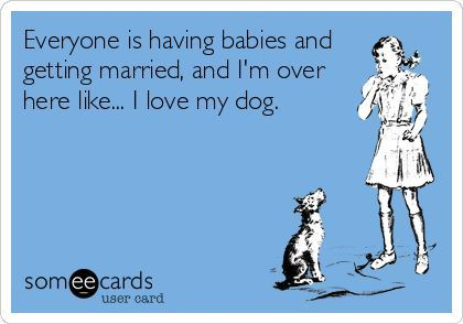 eafff1104282a19a9beec0b1760d67a1 everyone is having babies and getting married, and i'm over here
