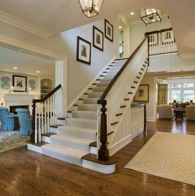20 Excellent Traditional Staircases Design Ideas: 20+ Exciting Chic Living Room Designs To Inspire