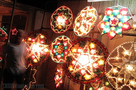 Philippine Capiz Shell Christmas Lanterns (Parol) at the ...