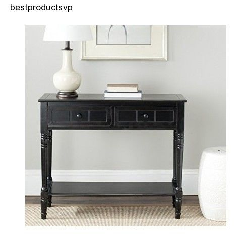 Ebay Hall Console Table Modern Black Sofa Wood