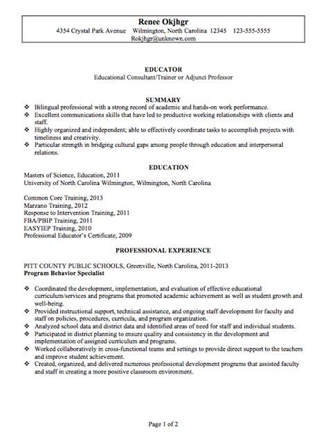 Cover Letter For Adjunct Professor \u2013 Sample Faculty Position Cover