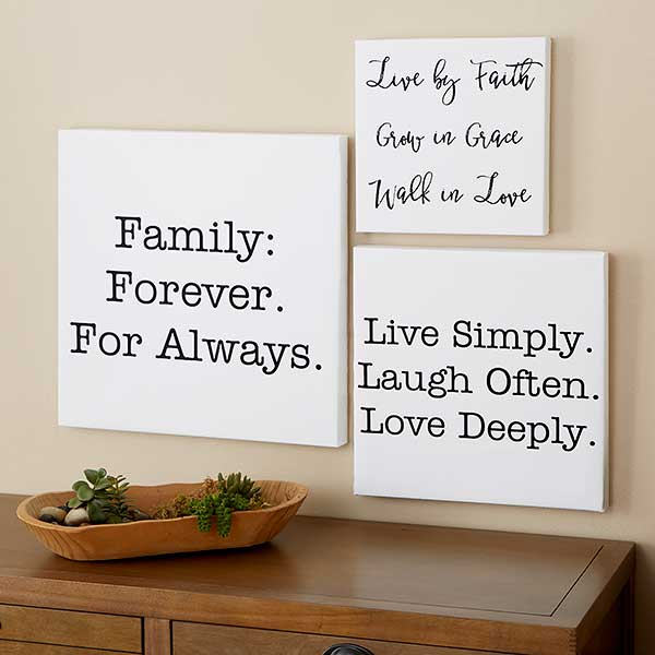 Custom Quote Canvas 12x12 Personalized Print Custom Quote Canvas Personalized Canvas Print Canvas Quotes