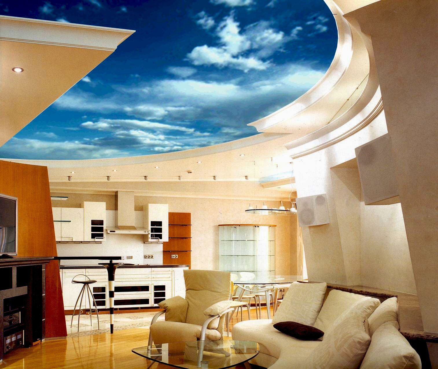 Stretch Ceiling House - Google Search