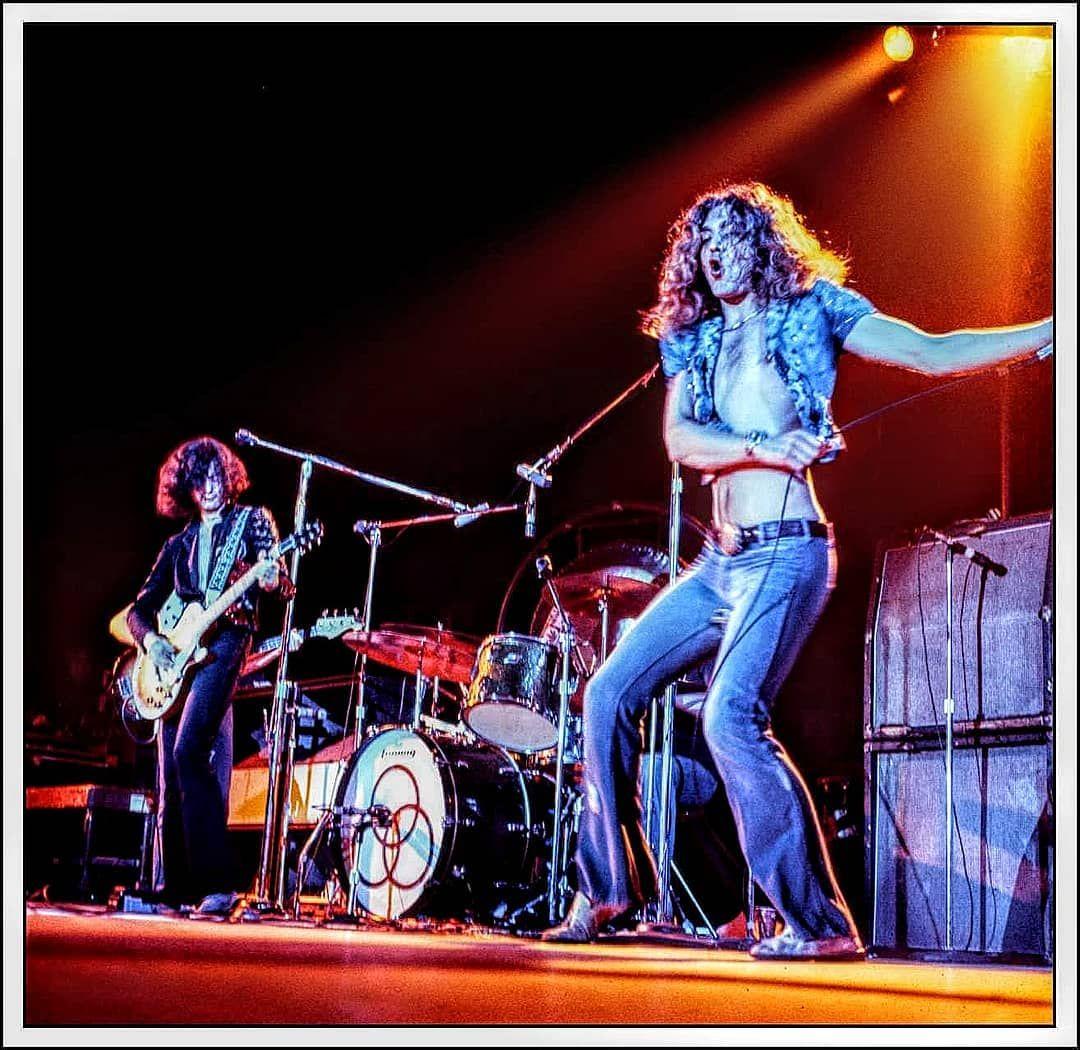 Photogallerynyc Com On Instagram Led Zeppelin Live Onstage Ca 1973 From The Original 2 25 Transparency Photogalleryn Led Zeppelin Live Led Zeppelin Zeppelin