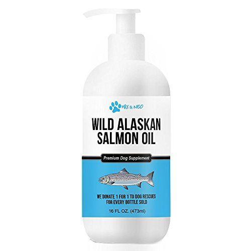 Max and Neo 100 Pure Wild Caught Alaskan Salmon Oil Dogs