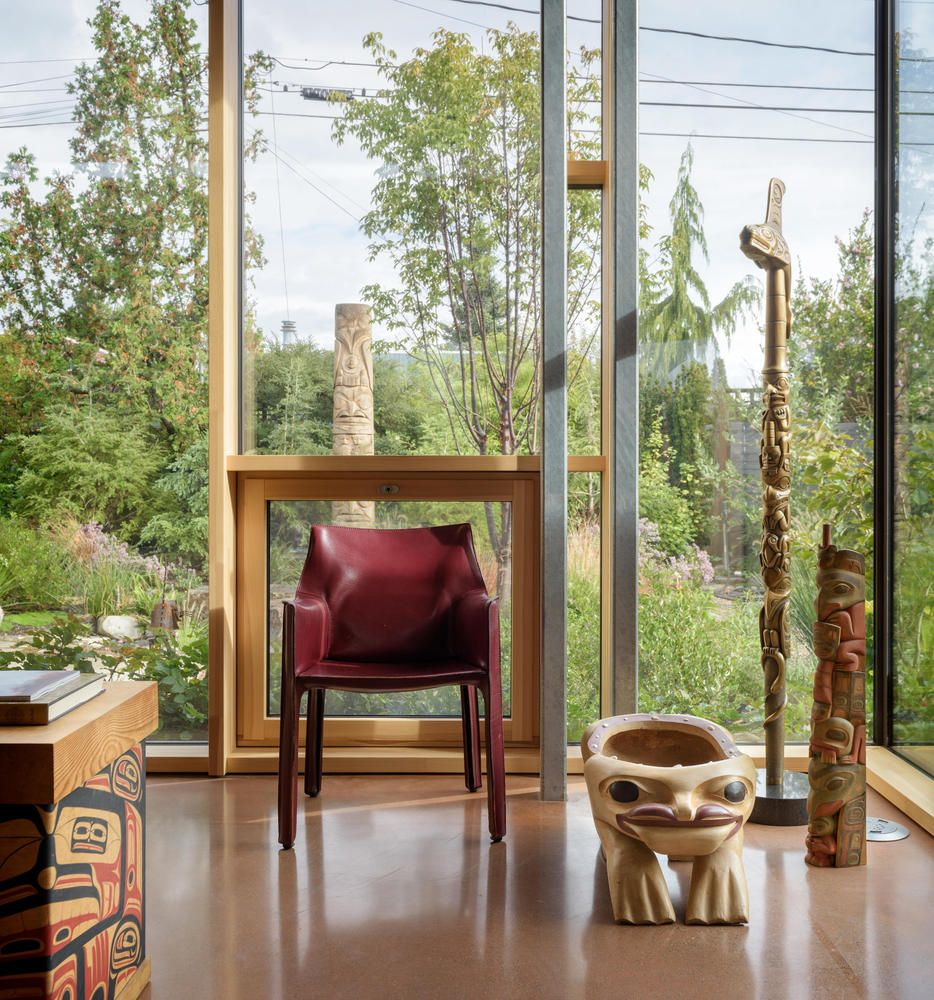Gallery Of City Cabin Olson Kundig 9 With Images Living Room Pictures Floor Colors Decor Design