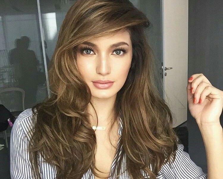 Pin By Vivian On 2017 Hair Color For Morena Hair Color Asian Kathryn Bernardo Hairstyle