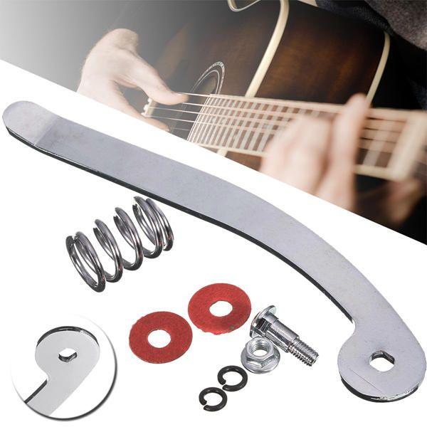 B5 Tremolo Brücke Saitenhalter für SG LP E-Gitarre Ersatz Silber