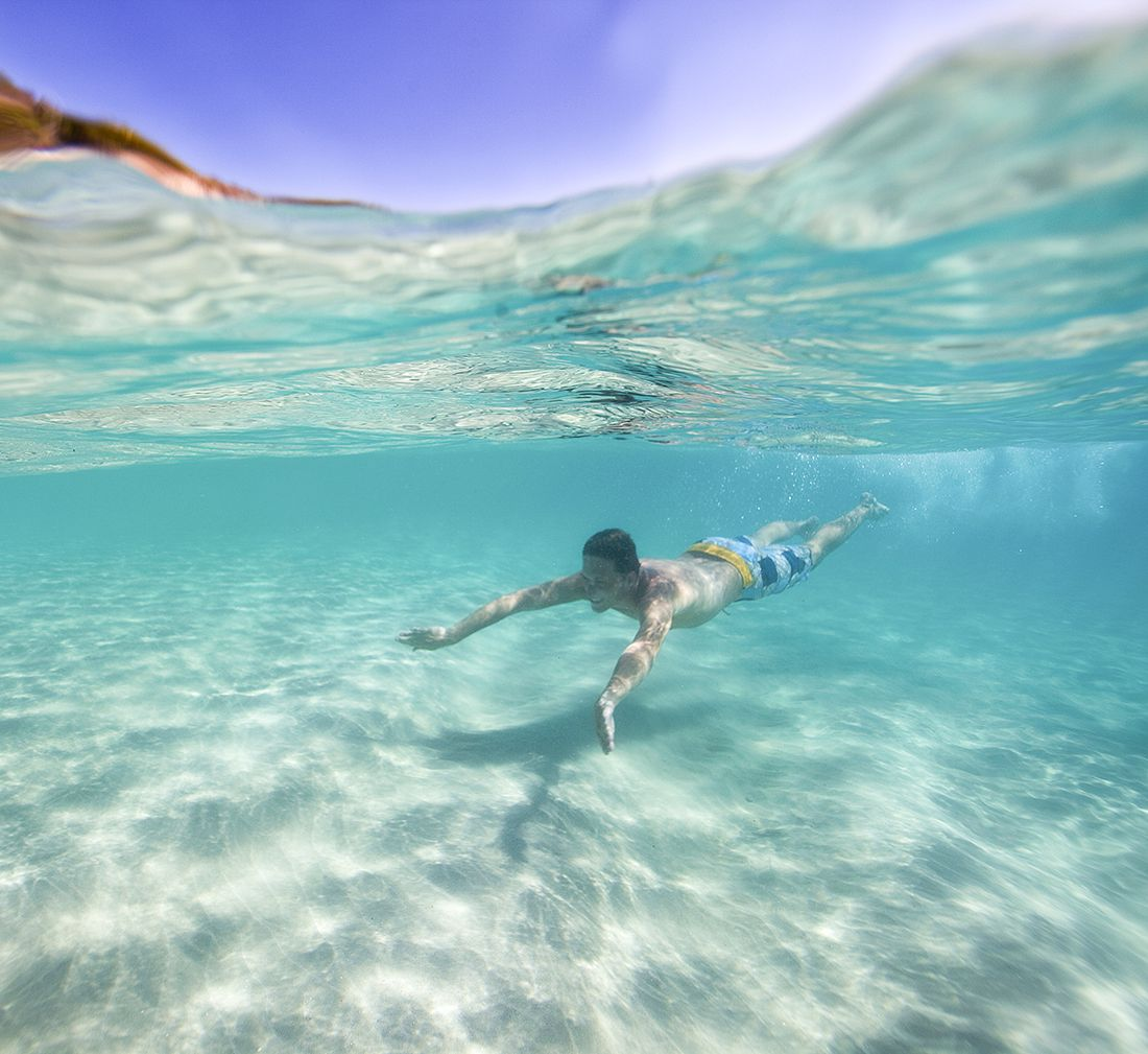 Best Places In The Us In May: Snorkeling In Antigua And Barbuda .. Awesome Pic! May I Go