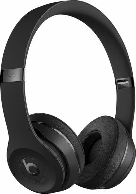 Beats By Dr Dre Beats Solo Wireless Headphones Black Mp582ll A